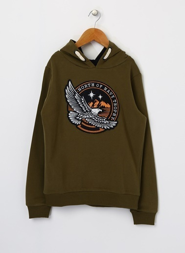 North Of Navy Sweatshirt Haki